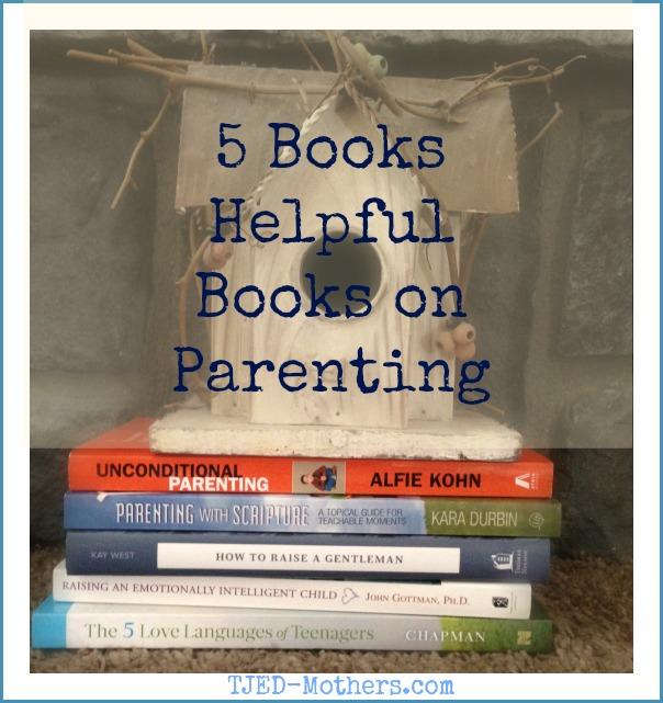5 Helpful Parenting Books