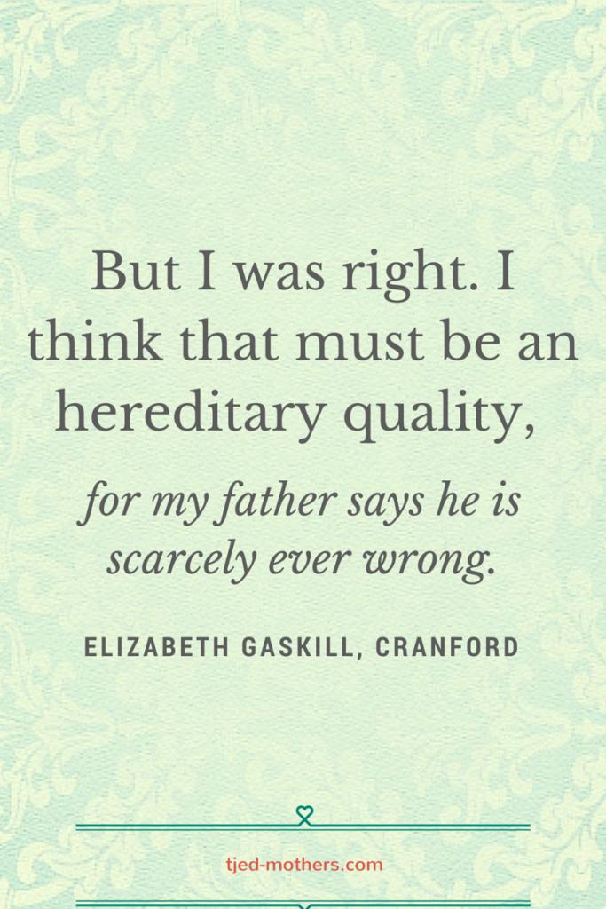 cranford quote