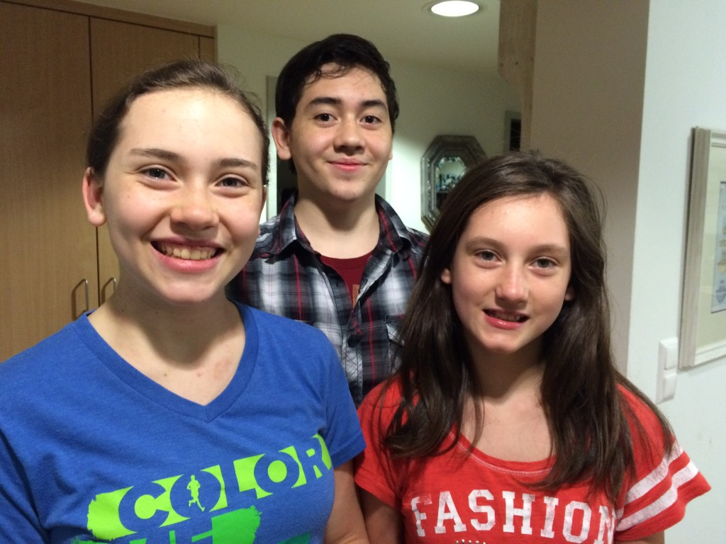 Makenzie, Benjamin, Madison