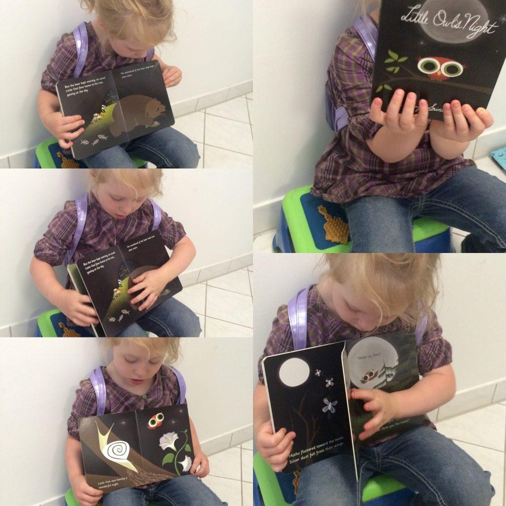 Lamby reads