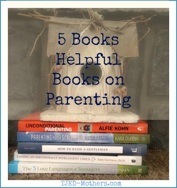 5 Helpful Parenting Books