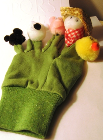 Old MacDonald Glove Puppet
